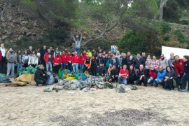 Twenty tonnes of waste collected from Calvia beaches last year