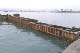 "Costas reject complaint about ""new"" Puerto Pollensa jetty"