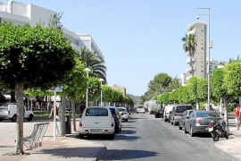 Calvia fines for hire cars parked on streets