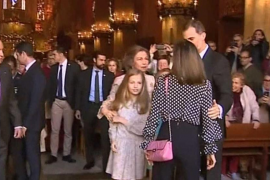 Queen Letizia heckled following Sunday's Cathedral altercation