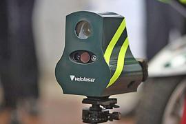 Mini-radars for detecting speeding
