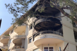 Residents of 24 flats moved out after Cas Catala blaze