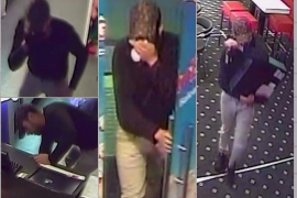 Police asking for help in identifying games salon robber
