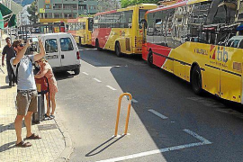 New bus stops in Puerto Pollensa operational this week