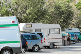Complaints about motor homes in Ciudad Jardín