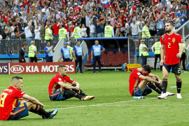 Spain shocked after penalty shoot-out exit