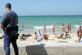 National Police step up Playa de Palma operations