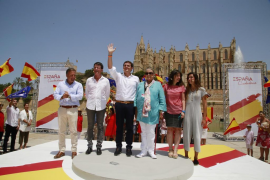 Ciudadanos present patriotic project in Palma