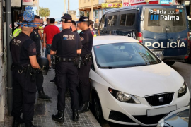 Playa de Palma arrests and assaults on police