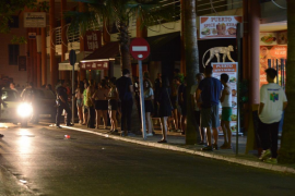 Puerto Andratx club cleared because of pepper spray