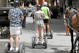 Palma to regulate Segway and other vehicle use