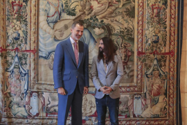 King Felipe wanting to build bridges with Catalonia