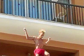 The balconing craze is back in Majorca