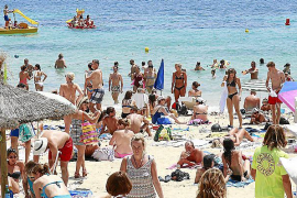 Balearic foreign tourism down over two per cent in July