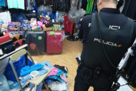 Fake goods seized in Palmanova