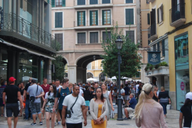 Palma tourist numbers need reducing by 50%