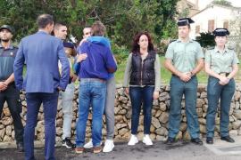 Guardia Civil director acknowledges heroes of Sant Llorenç