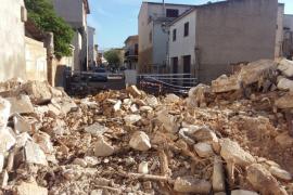 Sant Llorenç houses damaged by floods are demolished