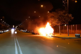 Cars set alight in latest Palma pyromaniac incident