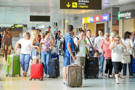 September tourist numbers in the Balearics went up