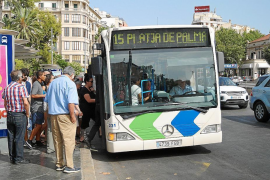 Palma bus users will have to wear tops