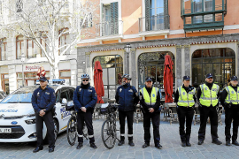 More police women on the beat in Palma