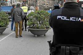 Police step up security in Palma this Christmas