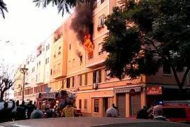 Thirteen injured in Palma blaze