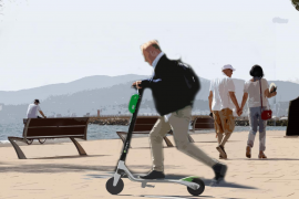 Scooters without licences will be removed by Palma police