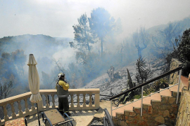 Fire break requirements for properties in woodland areas