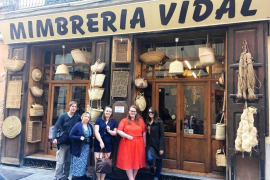 British tourism bloggers in Palma