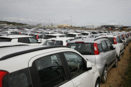 Fewer hire cars due to drop in tourism this year