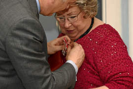 Jackie Codd honoured for services to the British community