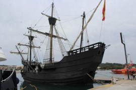 Replica of Magellan's ship visiting Palma