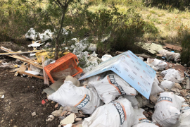 Calvia fines for serious waste dumping offences