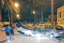 Driver walks away from spectacular accident