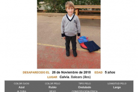 Searches mounted for missing five-year-old boy from Calvia