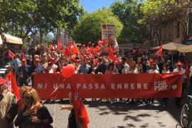Elections backdrop to Labour Day rally