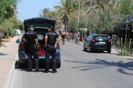 Playa de Palma arrests for theft and drugs