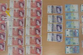 British arrests for fifty pound note fakes