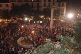 Palma celebrations for Real Mallorca promotion