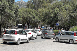 Traffic chaos continuing on Formentor road