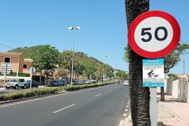 Forty fines a day for speeding in Cala Ratjada