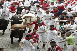 Three people gored on first day of Spanish bull-running festival