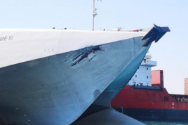 Ferries collide in Alcudia, no injuries