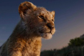 Scene from the film The Lion King