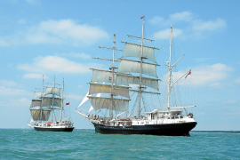 Lord Nelson and Tenacious.