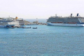 Palma town hall holds talks over cruise ships