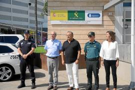 Guardia Civil arrive in Punta Ballena