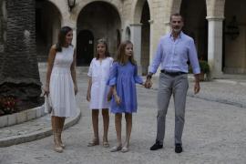 Royal Family arrives for Majorca holidays